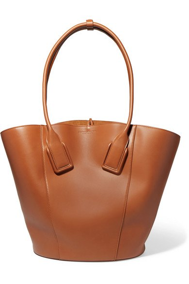 Bottega Veneta | Basket leather tote | NET-A-PORTER.COM