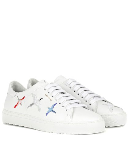 Clean 90 Bird leather sneakers