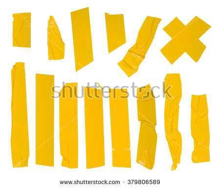 stock-photo-adhesive-yellow-tape-set-isolated-on-white-379806589.jpg (450×385)