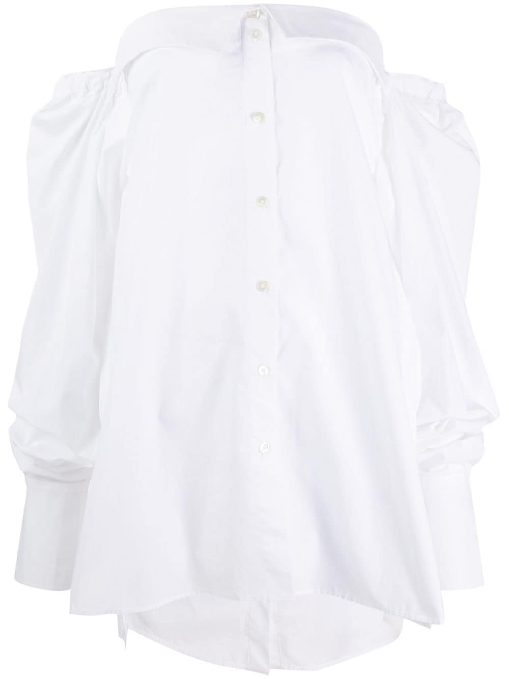 White Ann Demeulemeester Olda Shirt | Farfetch.com