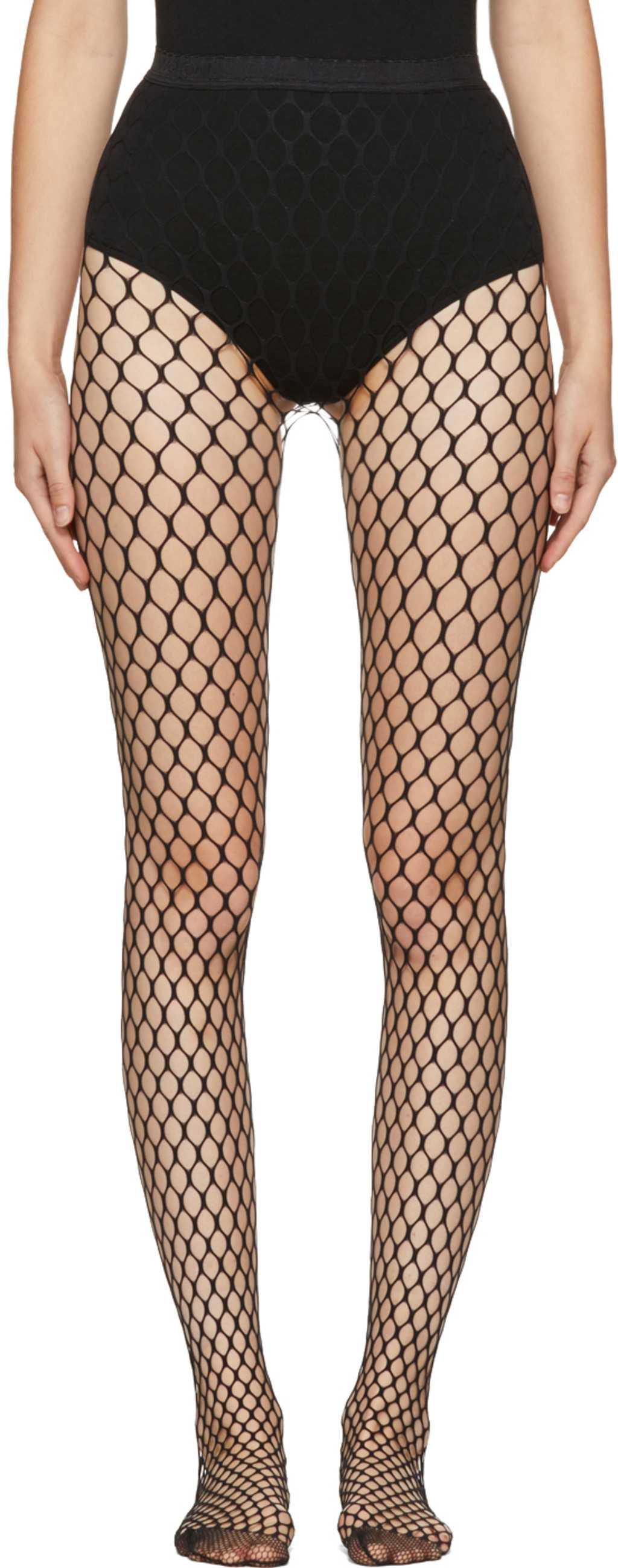 ssense leggings / socks / fishnets