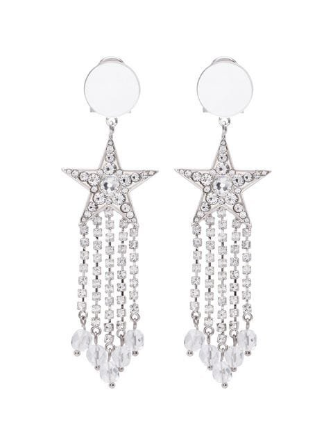 Miu Miu star crystal earrings