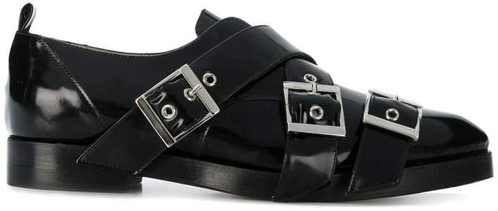 buckled Derby shoes