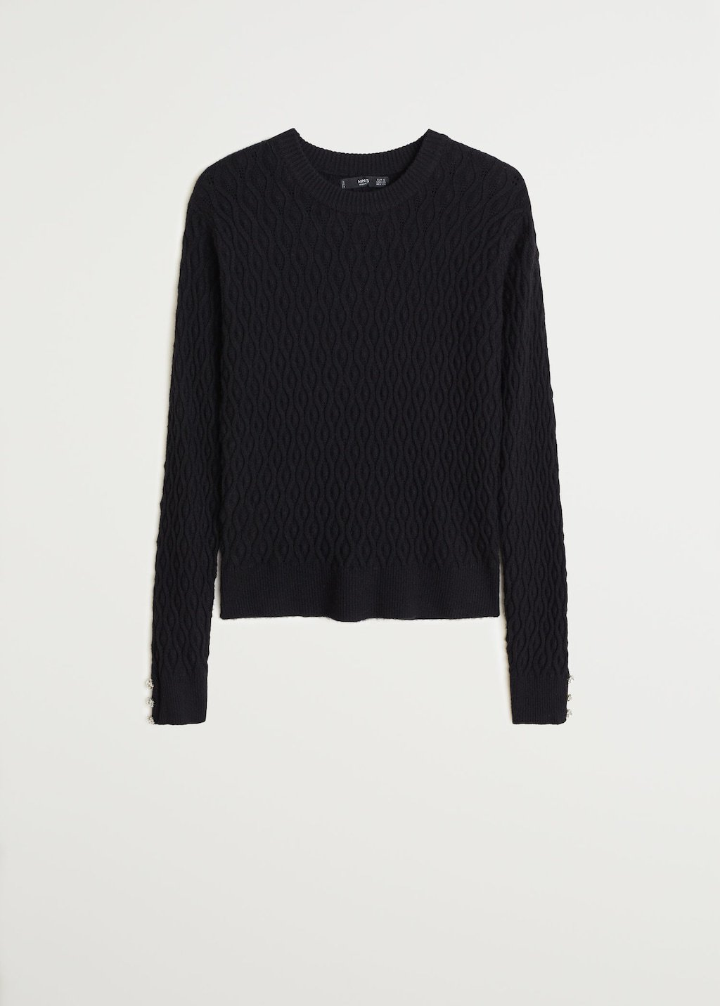 Knitted braided sweater - Women | Mango USA