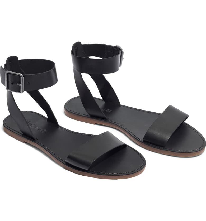 Madewell The Boardwalk Ankle Strap Sandal (Women) | Nordstrom