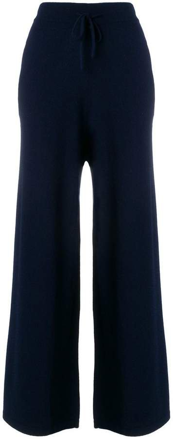 cashmere Chain embellished trousers