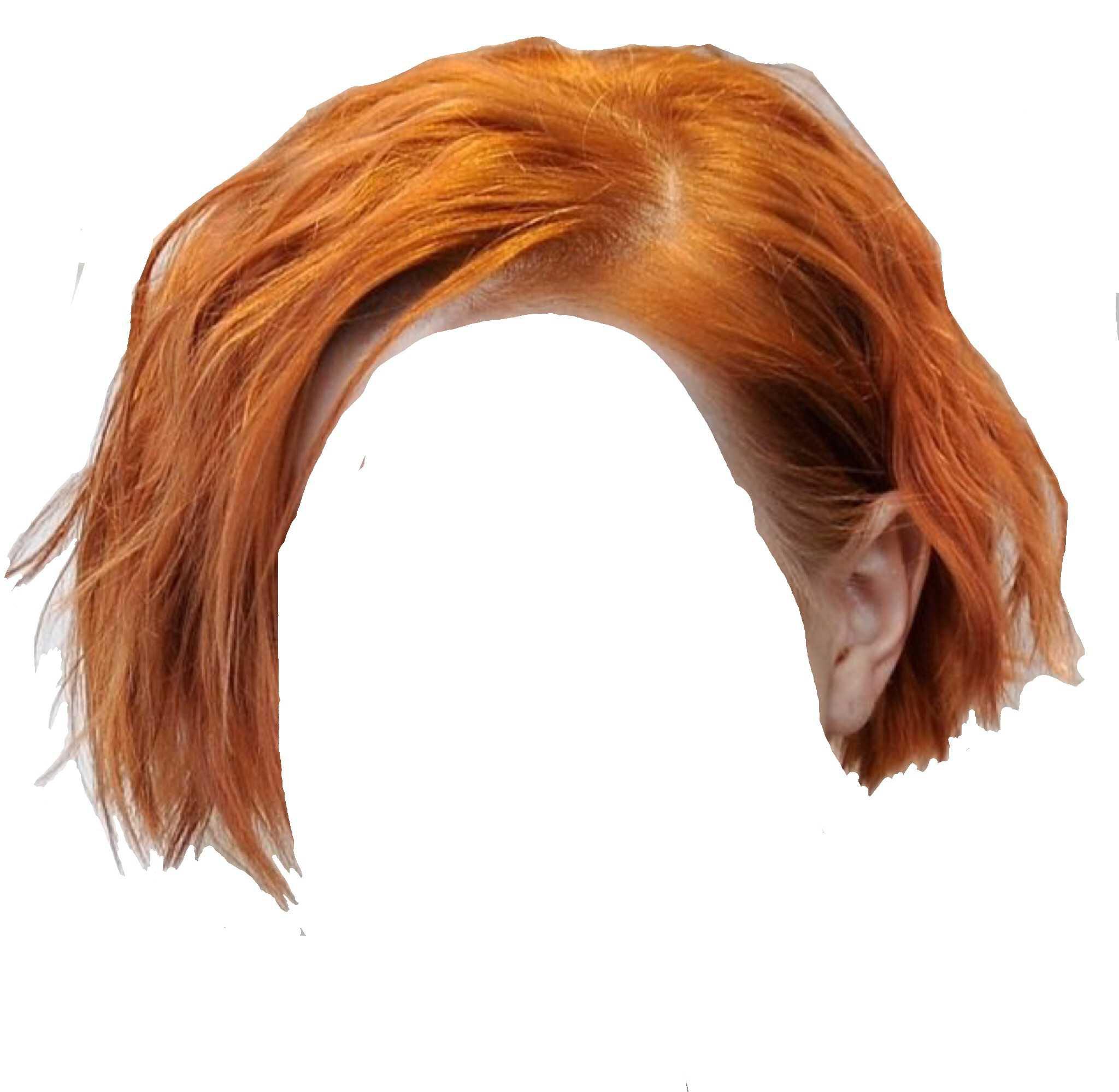 ginger short bob