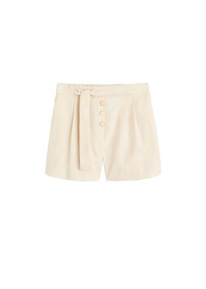 MANGO Modal-blend short