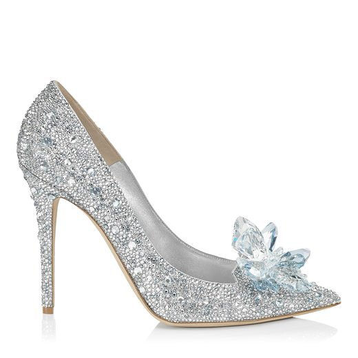 Jimmy Choo Crystal Covered Pointy Toe Pumps