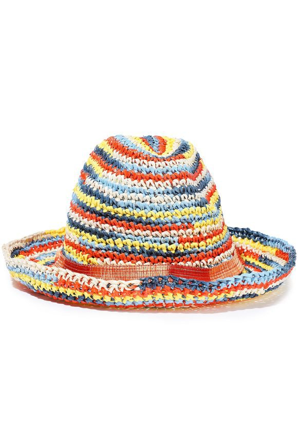 Crochet-knit raffia hat | MISSONI | Sale up to 70% off | THE OUTNET