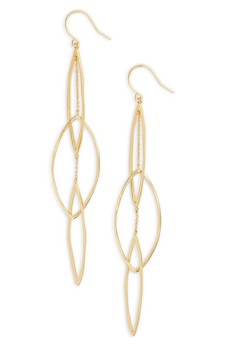 gorjana Kellen Interlocking Drop Earrings | Nordstrom