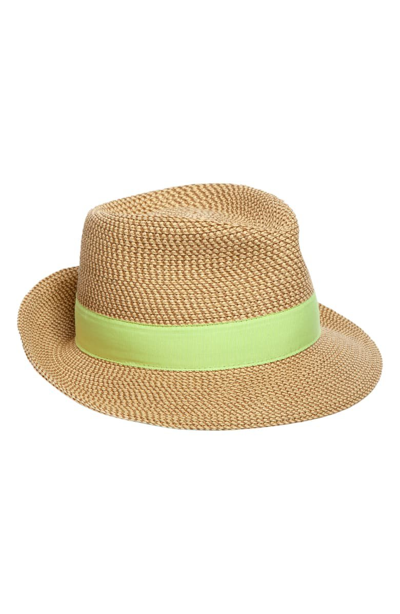 Eric Javits Classic Squishee® Packable Fedora Sun Hat | Nordstrom