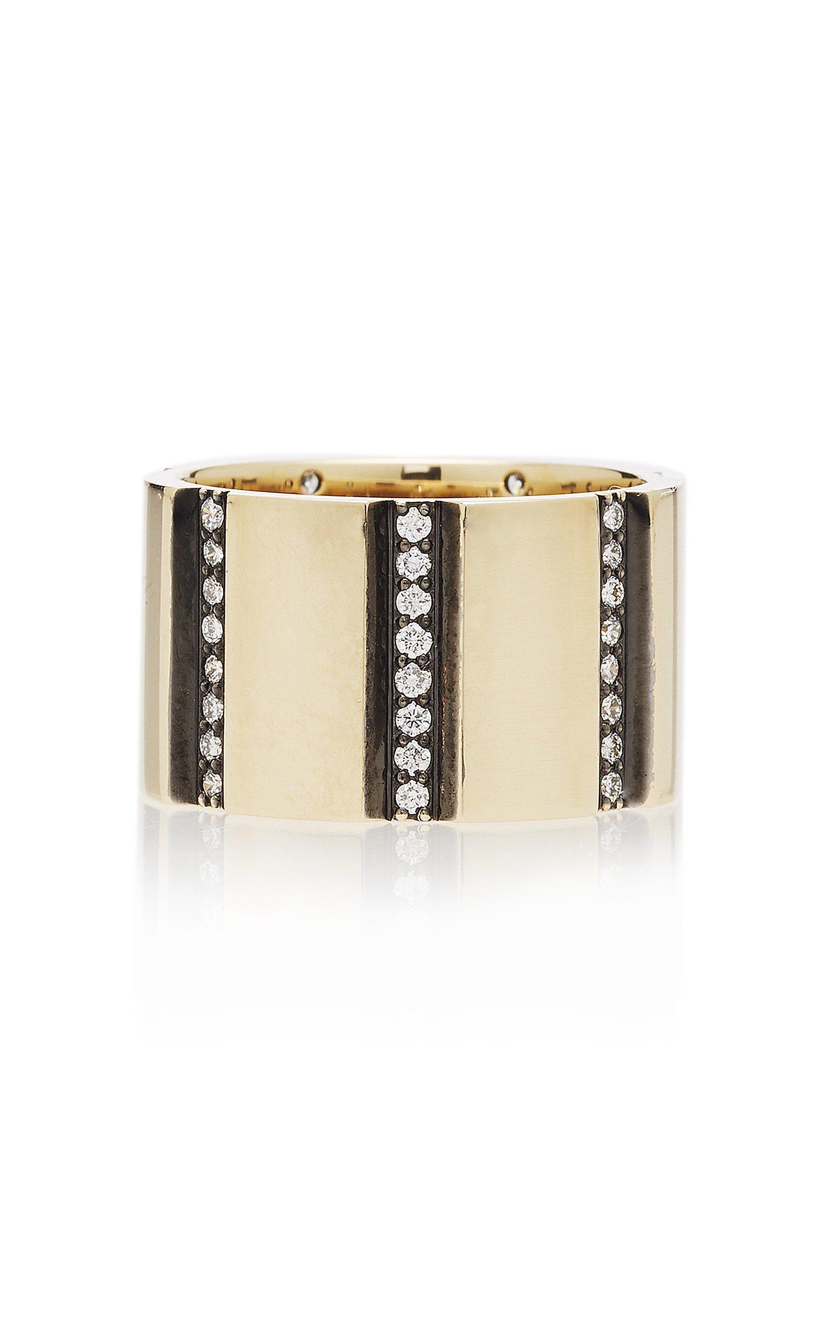 Nancy Newberg Vertical striped ring