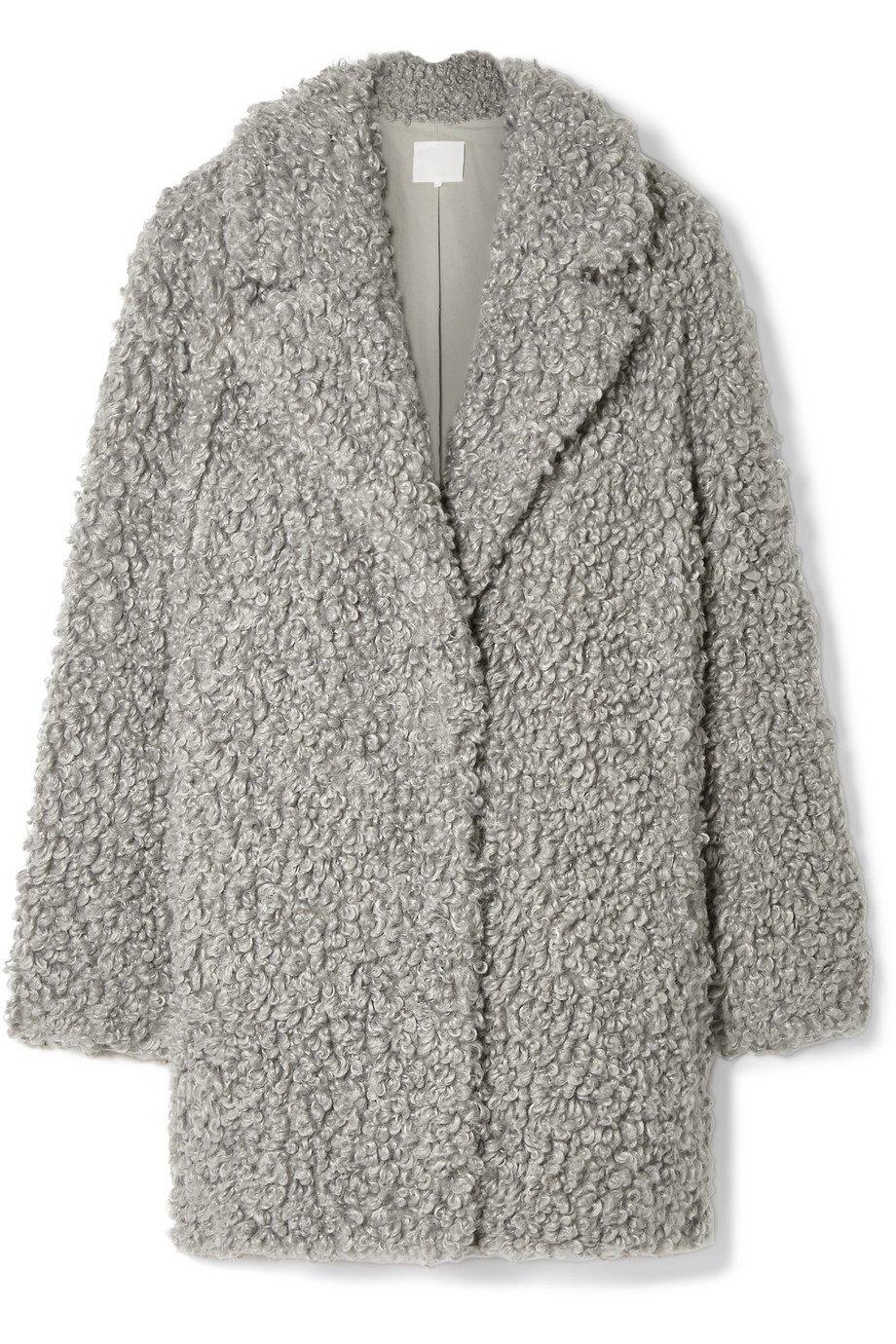 Tibi | Faux shearling coat | NET-A-PORTER.COM