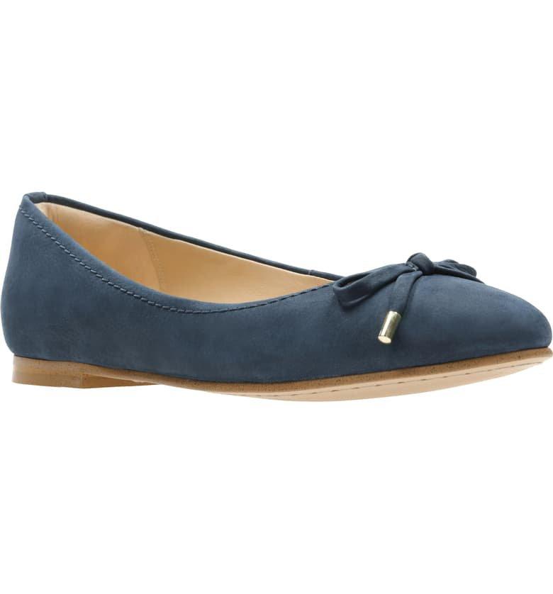 Clarks® Grace Lily Flat (Women) | Nordstrom