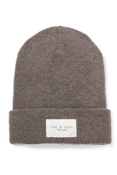 rag & bone | Addison ribbed-knit beanie | NET-A-PORTER.COM