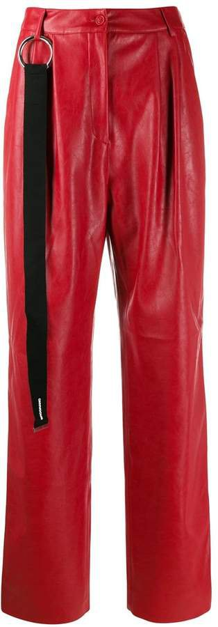 Brognano pleated waist trousers