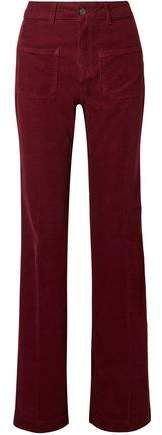 Dompay Cotton-blend Corduroy Flared Pants