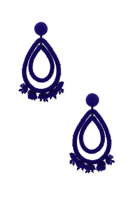 Grape Halo Earrings