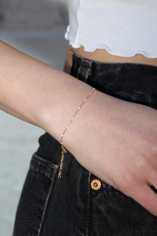 Thin Gold Bracelet - Bracelets - Jewelry - Accessories