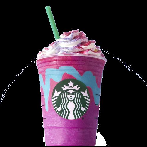 Starbucks Unicorn Frap