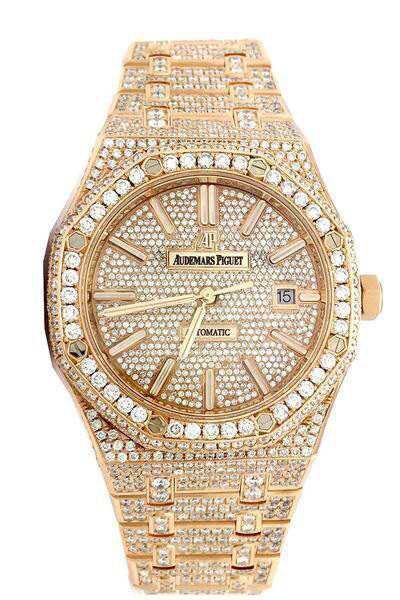 Audemars Piguet Diamond and Gold Watch