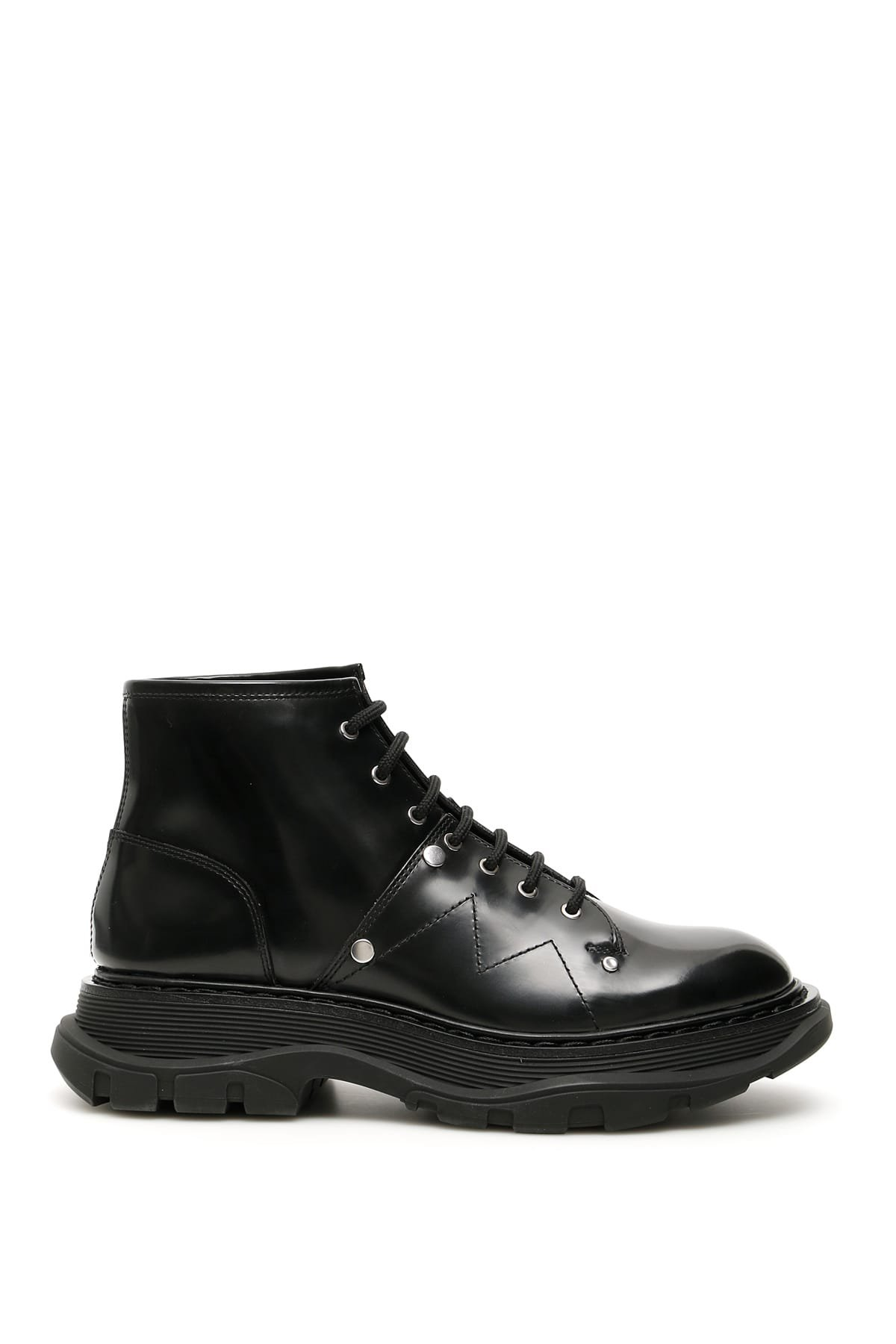 Alexander McQueen Boots With Seams