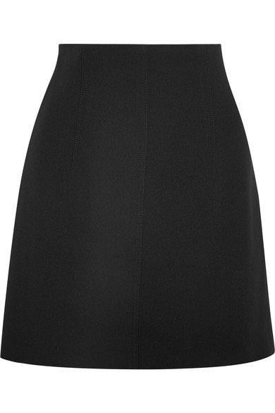 Chloé Crepe mini skirt Black Women Clothing Skirts,chloe suede shorts,Top Designer Collections, chloe marcie bag Online Retailer