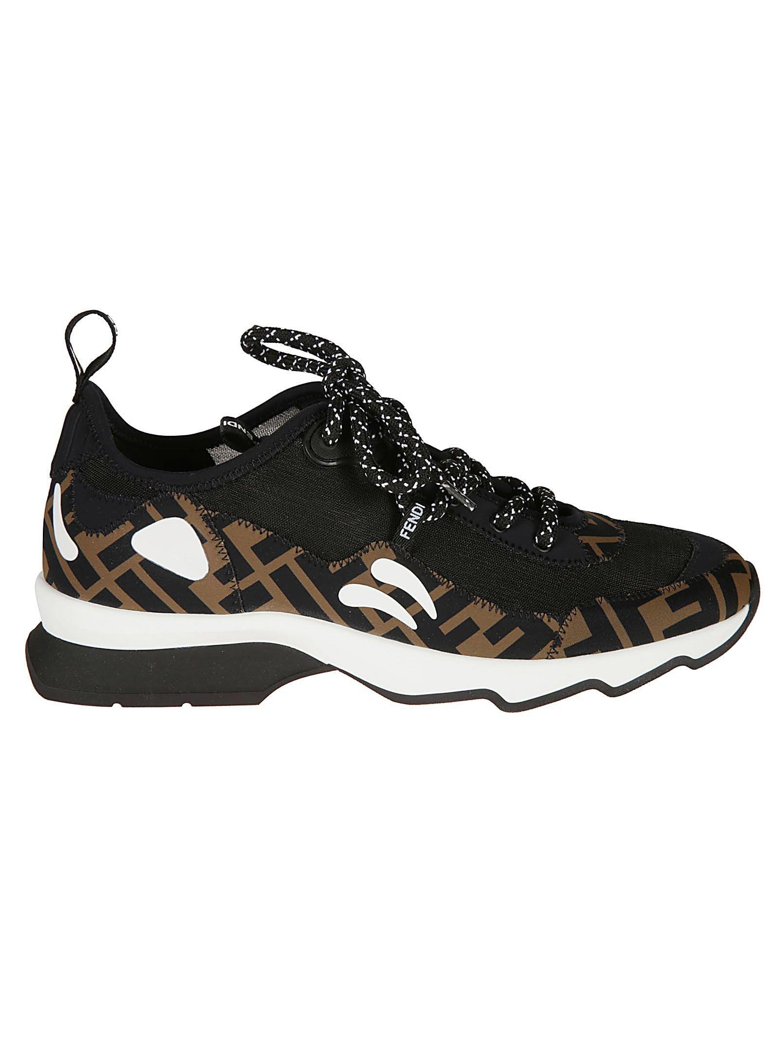 Fendi Ff Low Top Sneakers