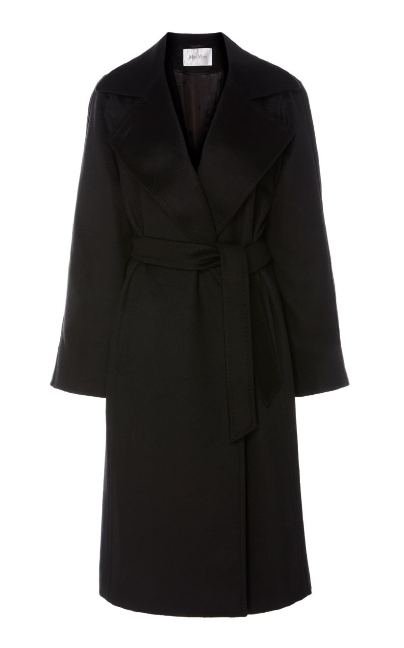 Manuela Belted Camel Hair Coat by Max Mara   Moda Operandi