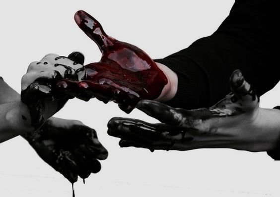 C A T.S A M S | || 4. | Pinterest | Blood, Hands and Dark