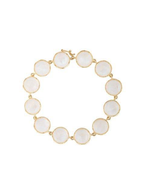 Irene Neuwirth 18kt Yellow Gold Moonstone Bracelet