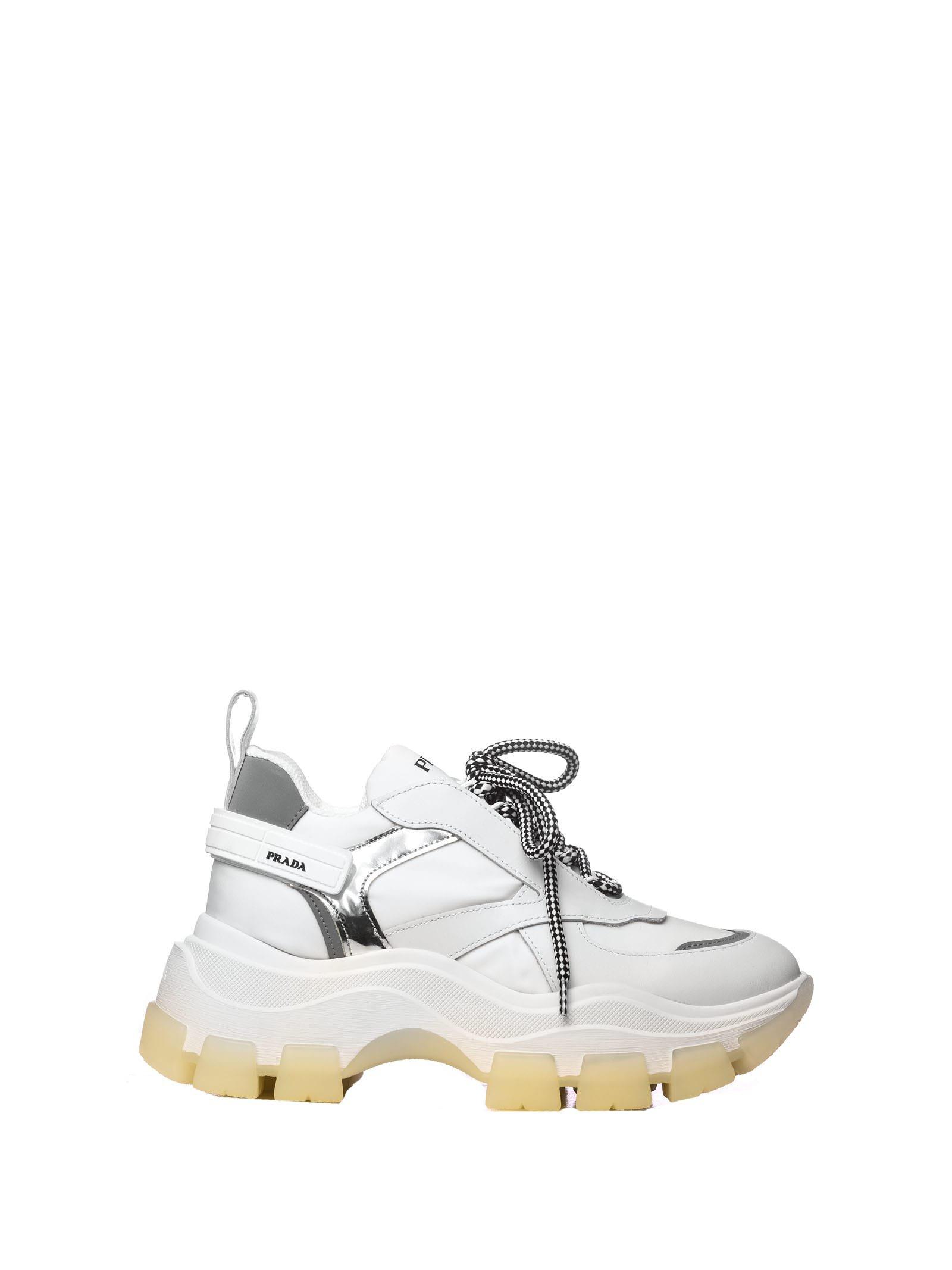 Prada Prada Chunky Sole Sneakers