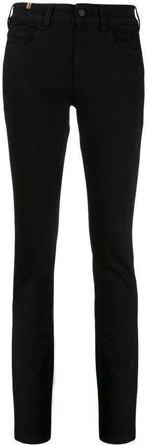 Bamboo mid-rise skinny jeans