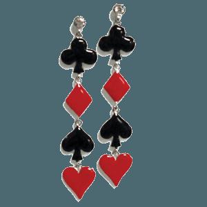 Card Suit Earrings