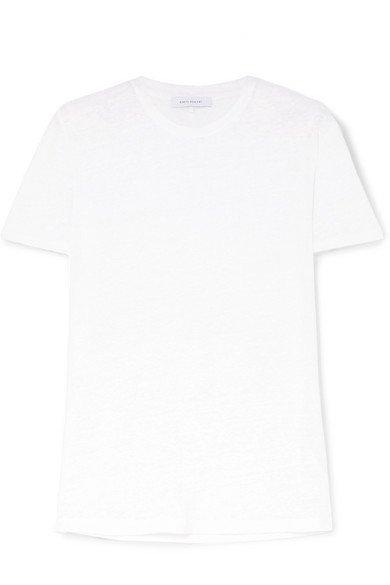 Ninety Percent   T-Shirt aus Leinen-Jersey   NET-A-PORTER.COM