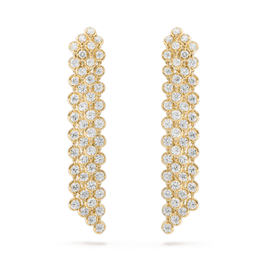 Palmyre earrings. - VCARO9TL00- Van Cleef & Arpels