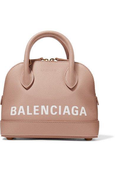 Balenciaga   Ville XXS AJ printed textured-leather tote   NET-A-PORTER.COM