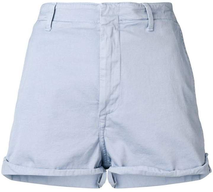 embroidered logo short shorts