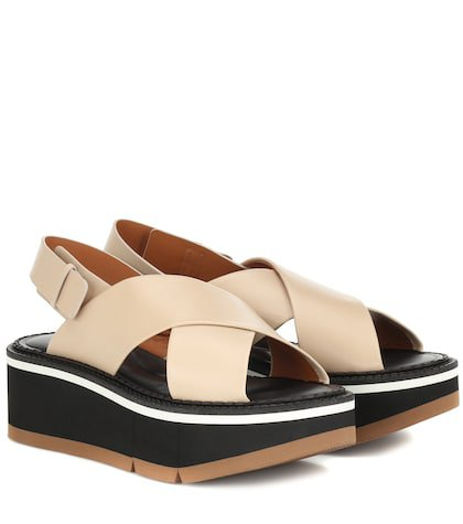 Anae platform leather sandals