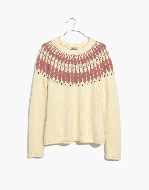 Fair Isle Keaton Pullover Sweater