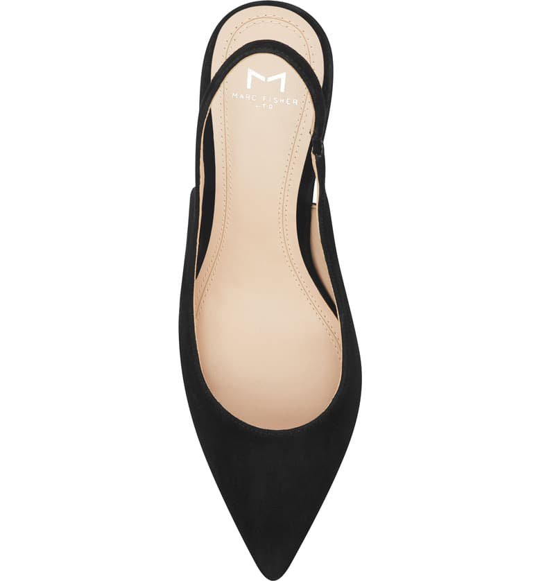 Marc Fisher LTD Camela Slingback Pump (Women) Black