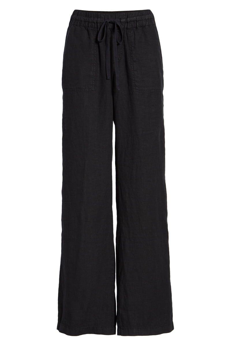 Caslon® Linen Pants (Regular & Petite) | Nordstrom