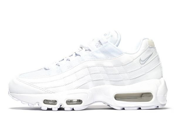 nike air max 95 trainers in all white - Buscar con Google