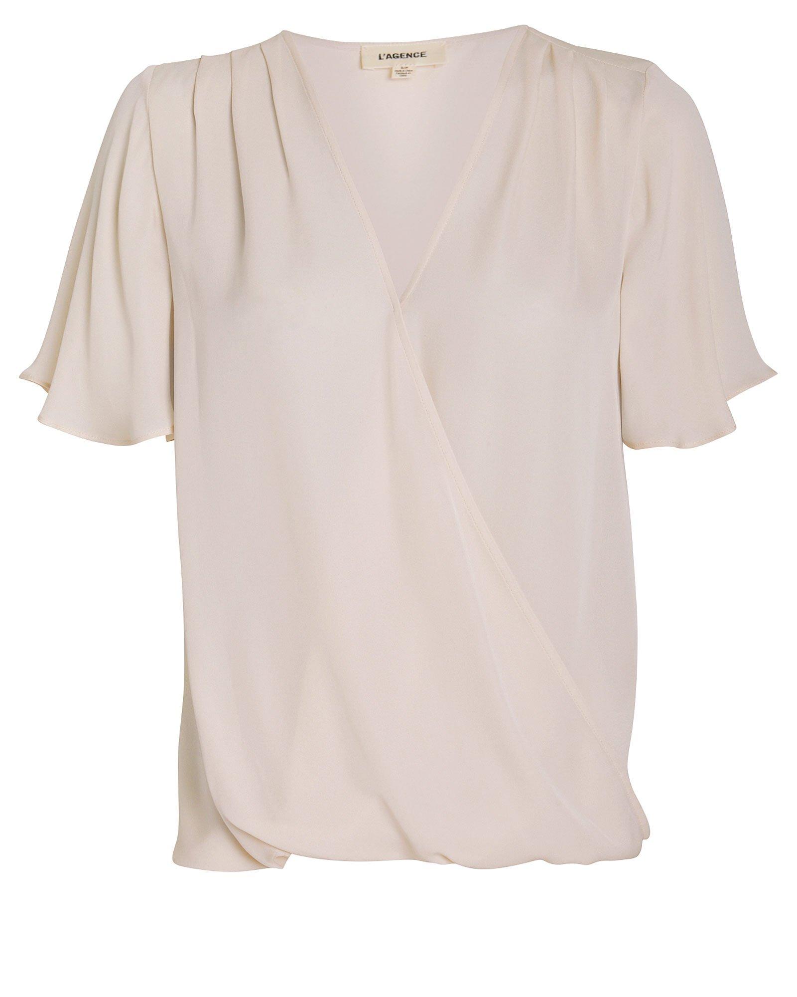 Karan Flutter Sleeve Georgette Blouse
