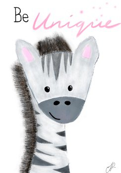 Jungle Print Zebra by Good Morning Ms Foster | Teachers Pay Teachers