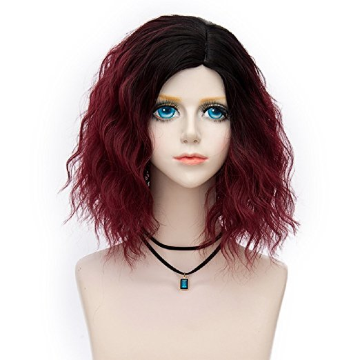 Probeauty Swinger Collection Two Tone Ombre Hair Party Costume Wigs Women Cosplay Wig Heat Resistant