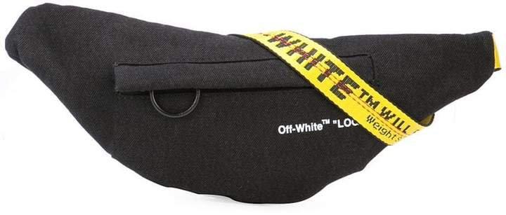 logo strap cross body bag