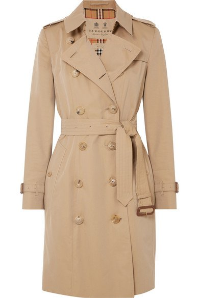 Burberry | The Chelsea cotton-gabardine trench coat | NET-A-PORTER.COM