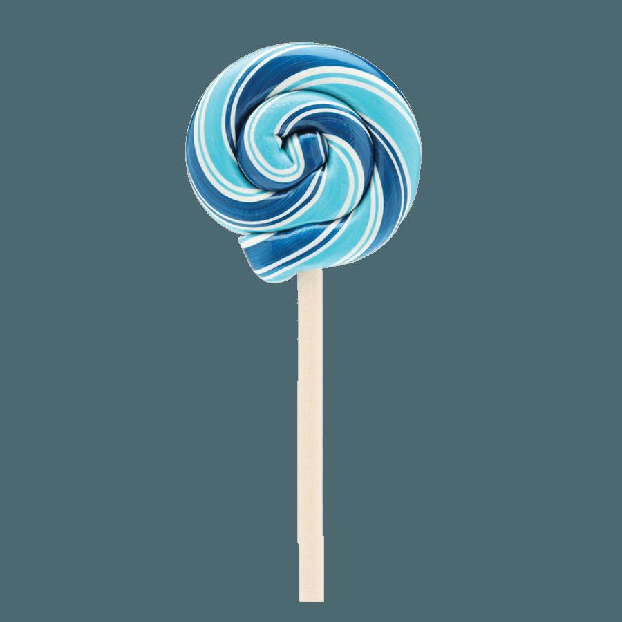blue lollypop